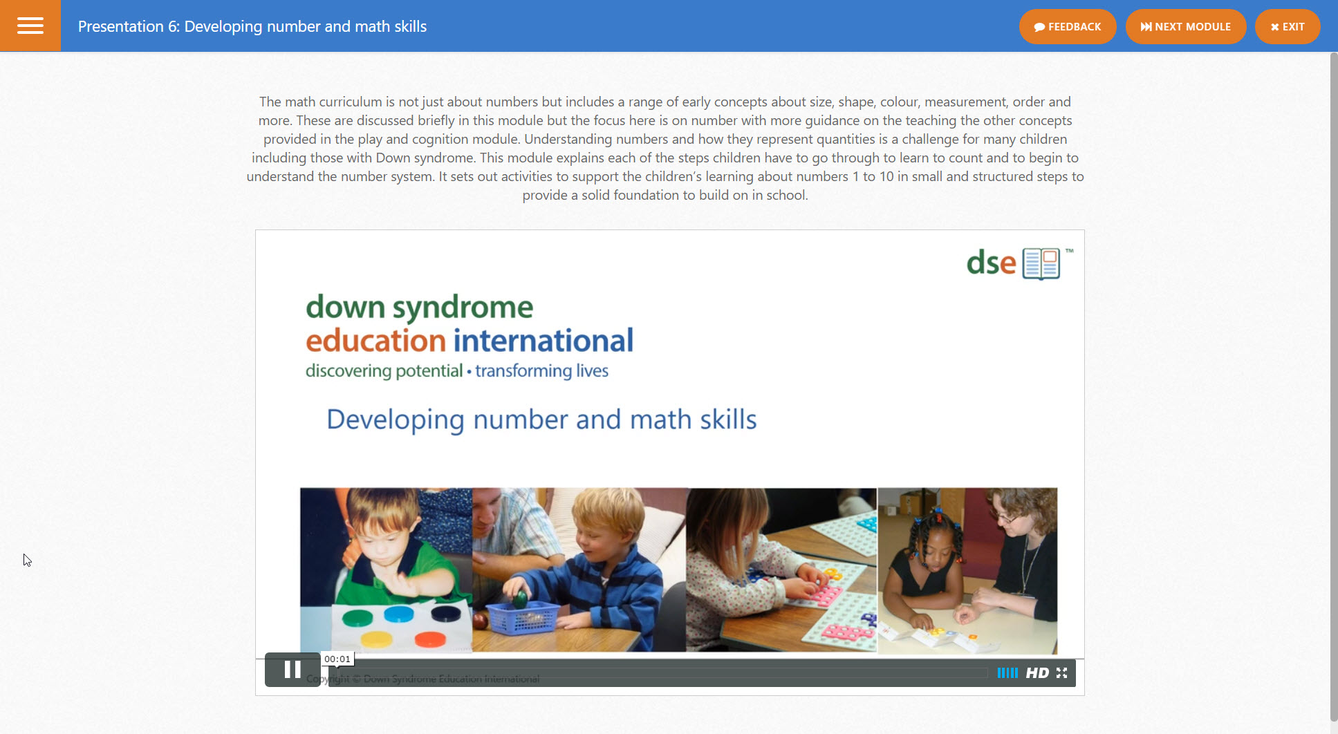 Online training courses - practical support and advice | Down