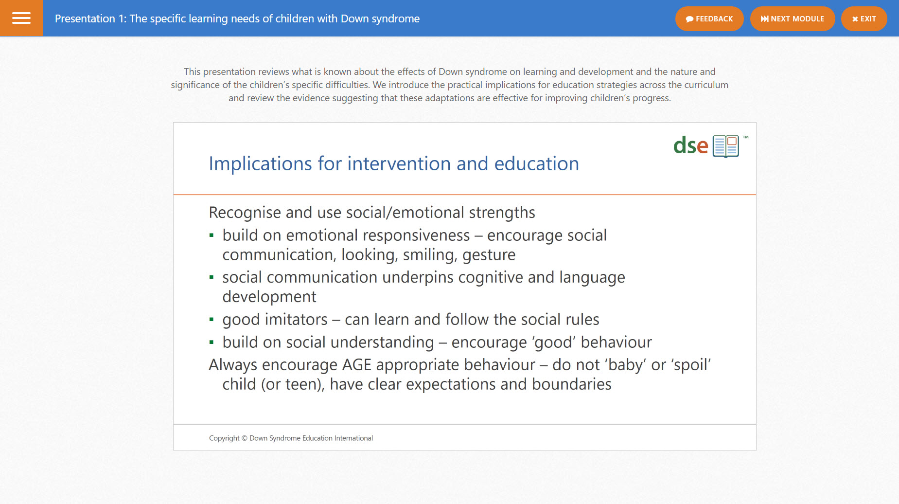 Online Course Effective Education For Children With Down Syndrome