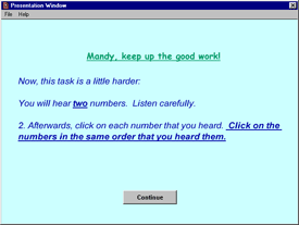 Example of instructions for online experiment